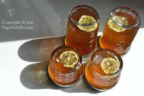meyer lemon and honey jelly