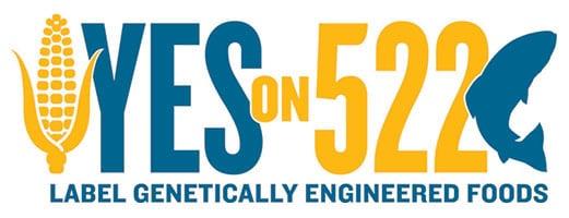 yes on 522 logo washington's label gmos