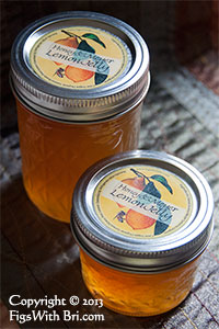 buy meyer lemon and honey jelly