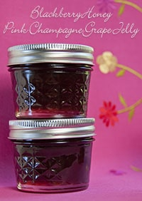 pink champagne grape jelly